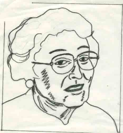 how to draw old woman