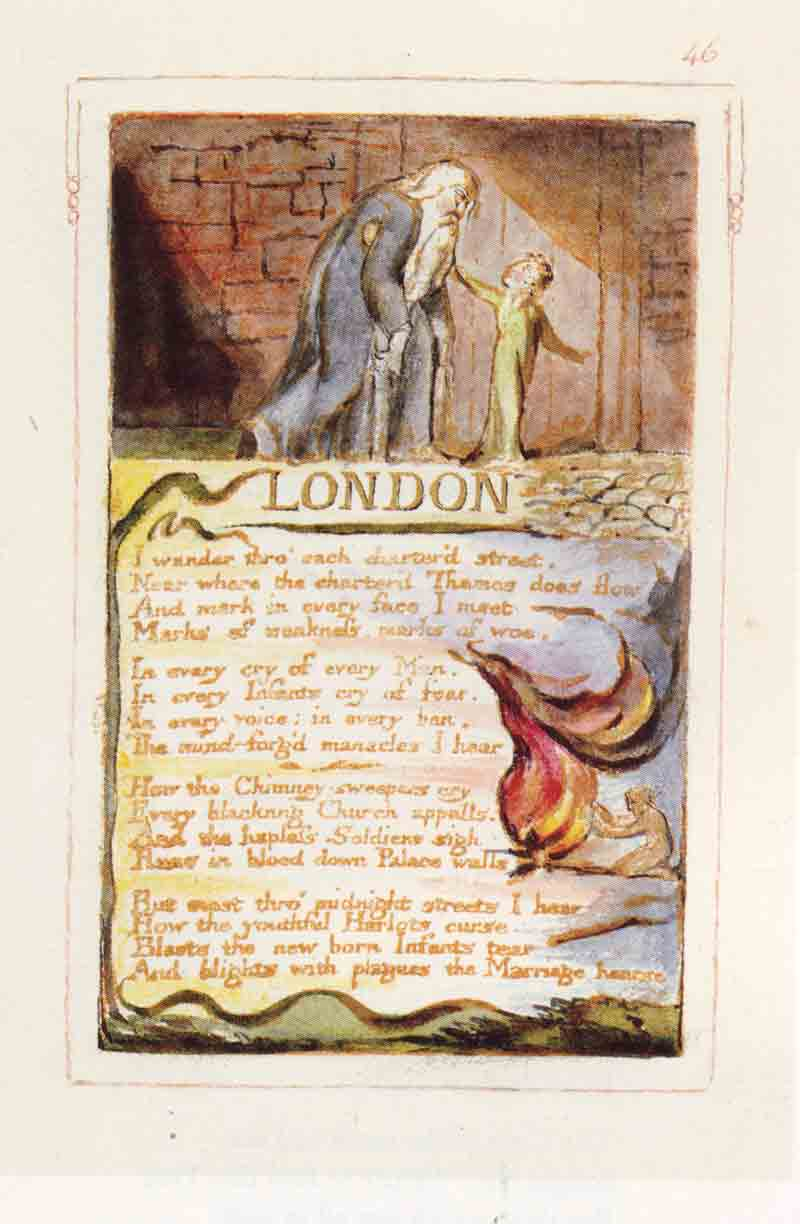london by william blake essay