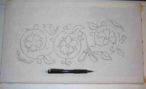 pencil-tracing