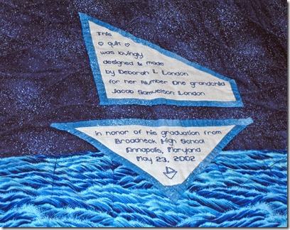 Sail label